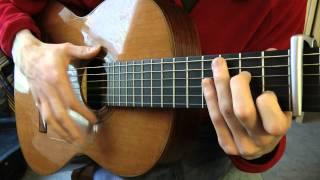 Cours de guitare - Gérard Lenorman : La Ballade des Gens Heureux (2/2) Shuffle