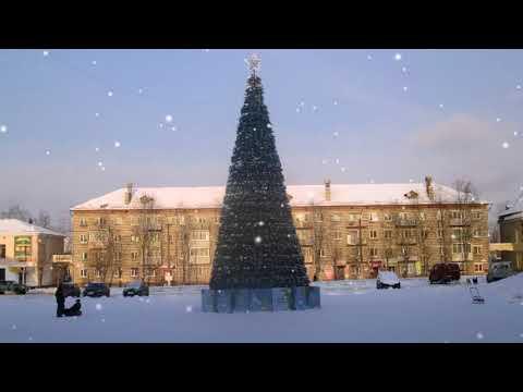 Фото   Фильм   Зимний город Подпорожье!
