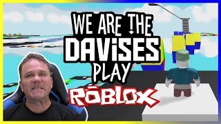 Infinite Parkour | Roblox Mega Fun Obby EP-34 | We Are The Davises Gaming