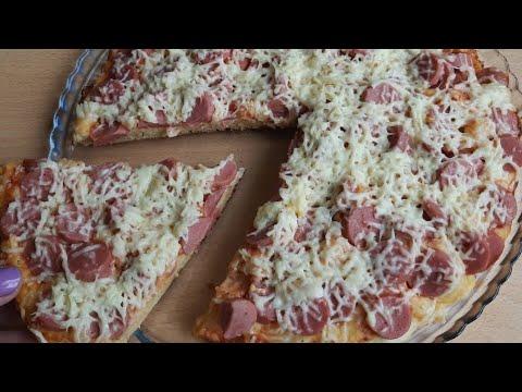 Պիցցա թավայի մեջ 15 րոպեում ПИЦЦА на сковороде за 15 минут 15-Minute Pizza