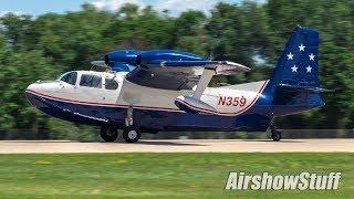 Oshkosh Arrivals - Monday (Part 2) - EAA AirVenture Oshkosh 2017