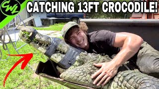 CATCHING 13FT CROCODILE!!!