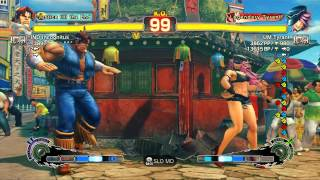 USFIV~ T.Hawk (IND Incognitus) vs.  Poison (UM Tyrant) HD