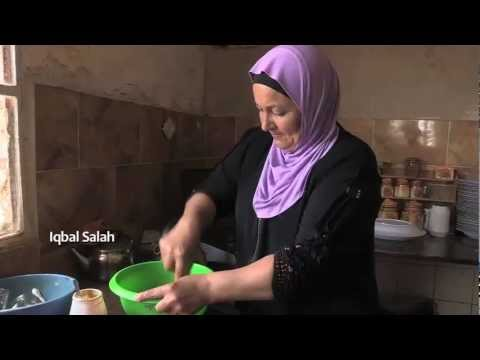 Iqbal Salah Makes Hummus The Traditional Palestinian Way