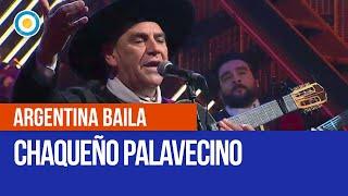 El Chaqueño Palavecino en el primer programa de Argentina Baila