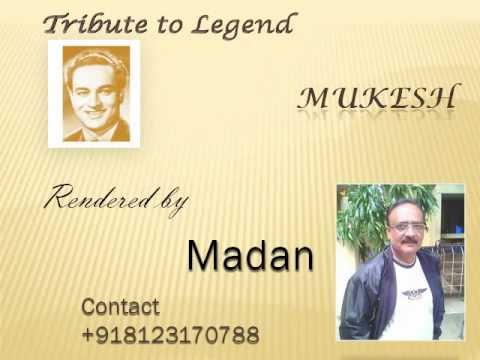 Suhani Chandani Ratein Karaoke by Madan