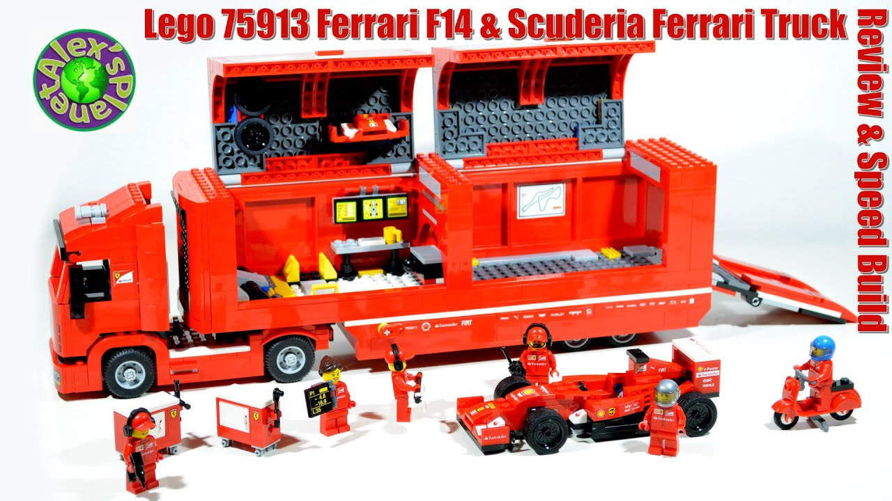 lego speed champions 75913 ferrari f14 scuderia ferrari. Black Bedroom Furniture Sets. Home Design Ideas