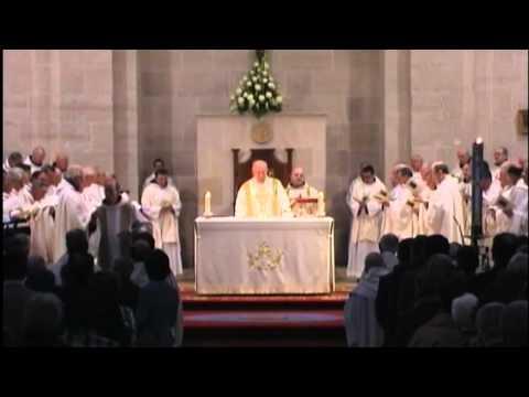 Bendición Abacial de Dom Lorenzo Maté (Abad de Santo Domingo de Silos - Burgos) - 14/04/2012