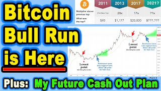 ЁЯФ╡ The Bitcoin/Crypto Bull Run is Here. Plus, My Future Cash Out Plan.