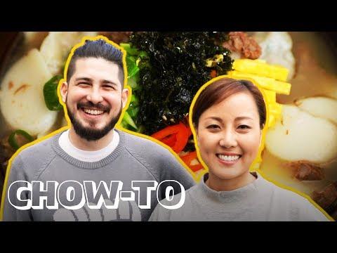 How to Make Dduk Guk (Korean Rice Cake Soup) | CHOW-TO