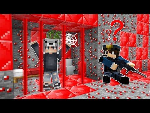 LAZERLİ RUBY HAPİSHANESİNDEN KAÇIYORUM! 😱 - Minecraft