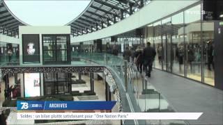 """Soldes : bilan satisfaisant pour """"One Nation Paris"""""""