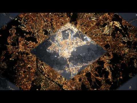 Как выглядят города из космоса. Посмотрите ваш город. Настоящие фотографии городов из космоса.