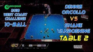 #7 - Dennis ORCOLLO vs Shane VanBOENING / 2018 West Coast Challenge 10-Ball!