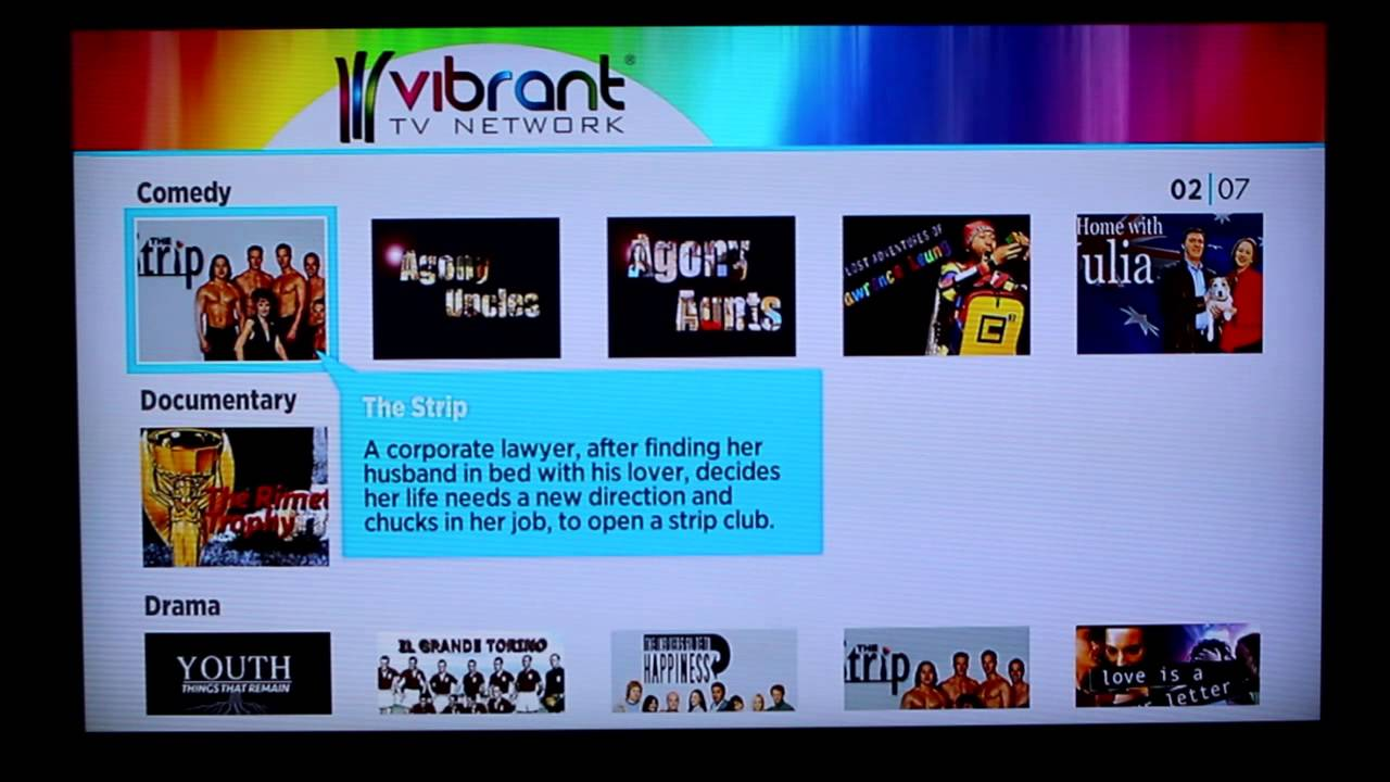 Review: Vibrant TV Network - YouTube