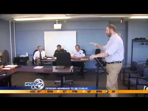 South Bend officer hearings to be public