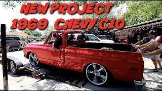NEW PROJECT 1969 CHEVY C10