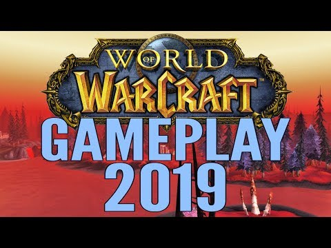 World Of Warcraft (WoW) Gameplay 2019 - Battle For Azeroth - All Classes & Specs