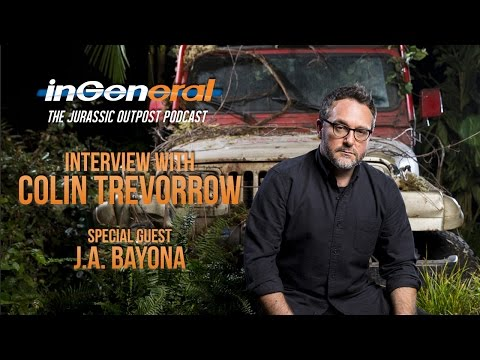 Colin Trevorrow Talks Jurassic World 2 & More! Surprise Guest: J.A. Bayona!  Jurassic Outpost