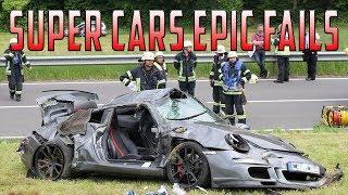 Epic Sports cars  Fails Compilation  2018