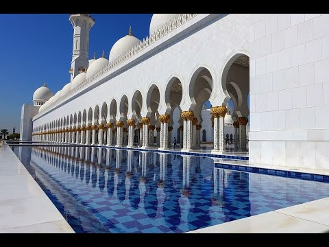 Sheikh Zayed Grand Mosque, Abu Dhabi, January 2015