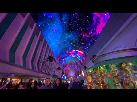 Fremont Street Las Vegas Light Show | World's largest video screen !!!