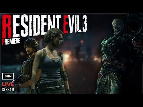 Resident Evil 3 Remake | Release Day Livestream No Commentary Walkthrough Full Game (Hardcore)