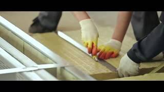 видео Металл используемый при производстве сэндвич панелей