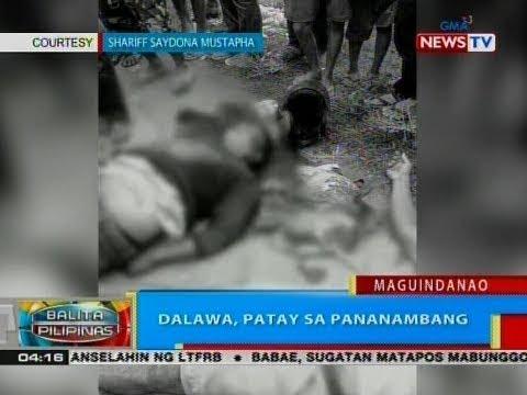 BP: Dalawa, patay sa pananambang