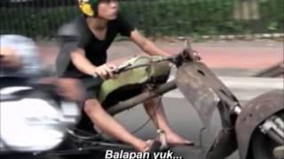 Modifikasi Ekstrem Vespa terbaik di Indonesia