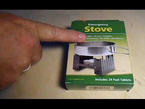 Coghlan's Emergency Stove For Backpacking Or Survival