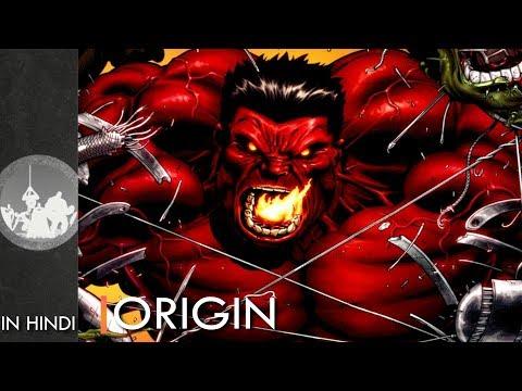 Supervillain Origin : Red Hulk | Explained In HINDI | Marvel Comics