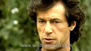 Imran Khan speaks to MAK Pataudi : rare interview between legends
