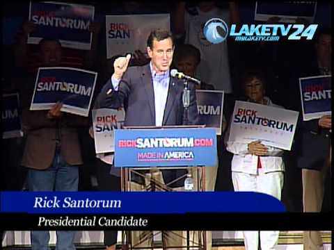 Rick Santorum, at the Main Street Music Hall, Lake of the Ozarks2012