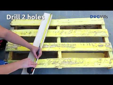 diy-waterproof-pallet-dog-bed-project