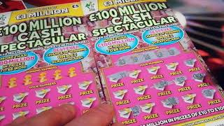 """New Red Hot 7""""s Doubler..Vs.Triple Lucky 7""""s Scrtchcards..and 2x CASH SPECTACULAR'S"""