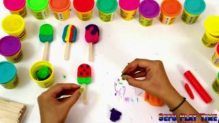 How to make Multi color popsicle with diffrent design.