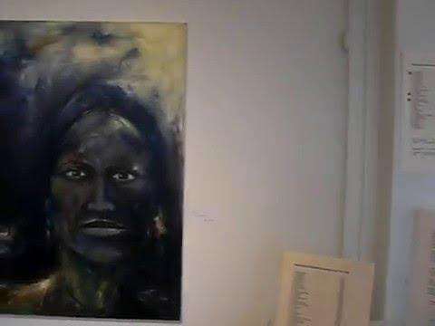 Peter Buchar, Art-exhibition in Ulricehamn, Sweden, april 2016