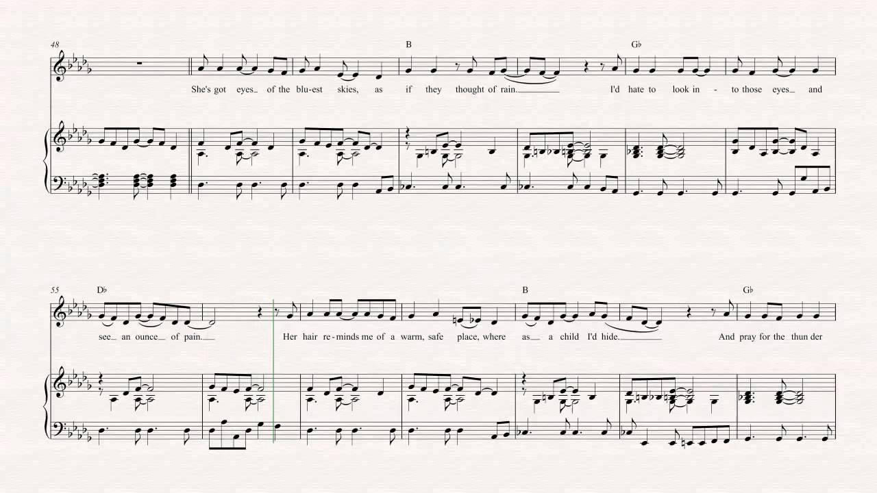 Clarinet Sweet Child O Mine Guns N Roses Sheet Music Chords