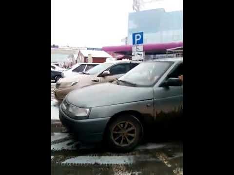 Вот такие горе таксисты в Оренбурге!