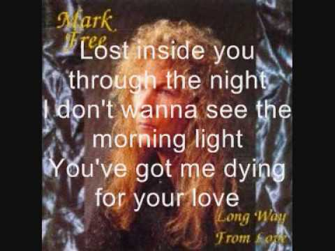 Mark Free - Dying For Your love (lyrics)