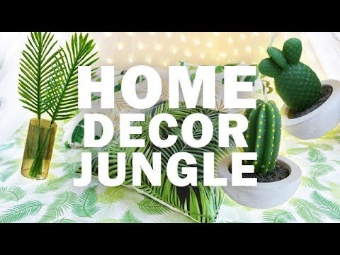 ROOM MAKEOVER DIY: 10 IDEE PER DECORARE LA CAMERA DA LETTO PER L\'ESTATE  #JUNGLESTYLE
