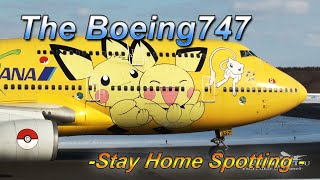 【FHD】Stay Home Spotting Archives @ Boeing 747 Only !!