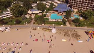 Beach and city Albena - Bulgaria