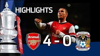 Video Gol Pertandingan Arsenal vs Coventry City