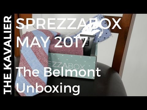 First Look: Sprezzabox May 2017 Unboxing | The Belmont