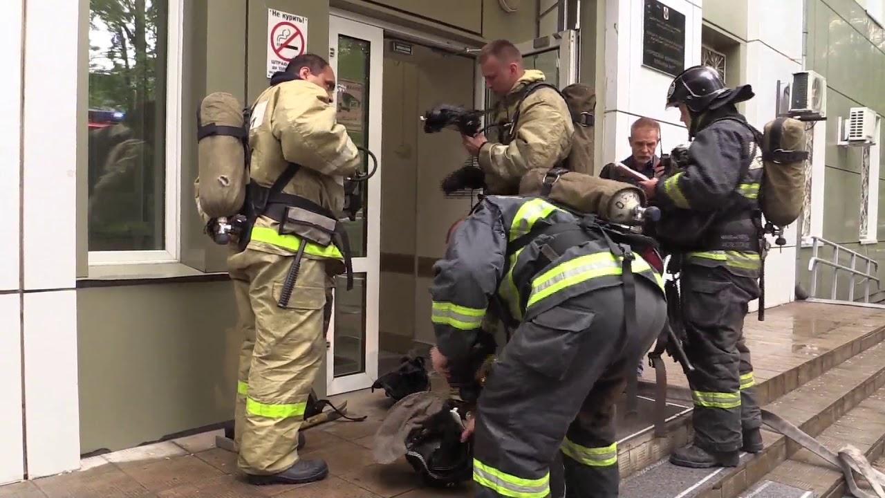 Хабаровские пожарные вместе с персоналом одной из больниц отработали действия при пожаре