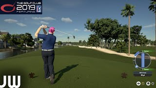 My first 9 Holes on The Golf Club 19...