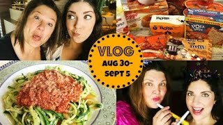 Honeybee Vlog Cam: Zucchini Pasta Recipe & Pumpkin Spice Everything