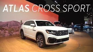 2019 La Auto Show: 2020 Volkswagen Atlas Cross Sport | Consumer Reports